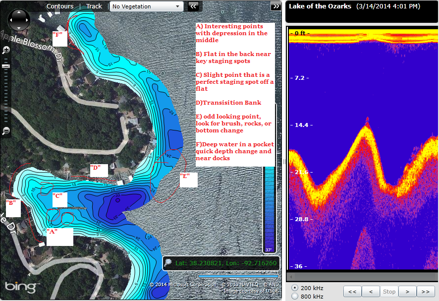 Use Insight Genesis to locate hidden fishholding structure