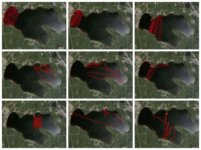 Nine Trip Collage