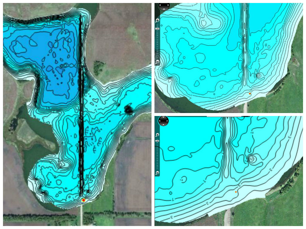underwater maps of lakes Make Your Own Lake Map C Map Fishing underwater maps of lakes