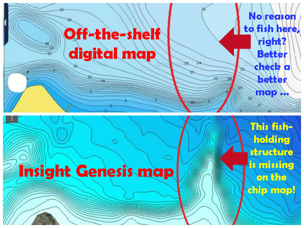 Attend a free lowrance electronics insight genesis for Places to fish near me for free