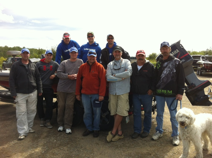 The Falcon Lake mapping party crew