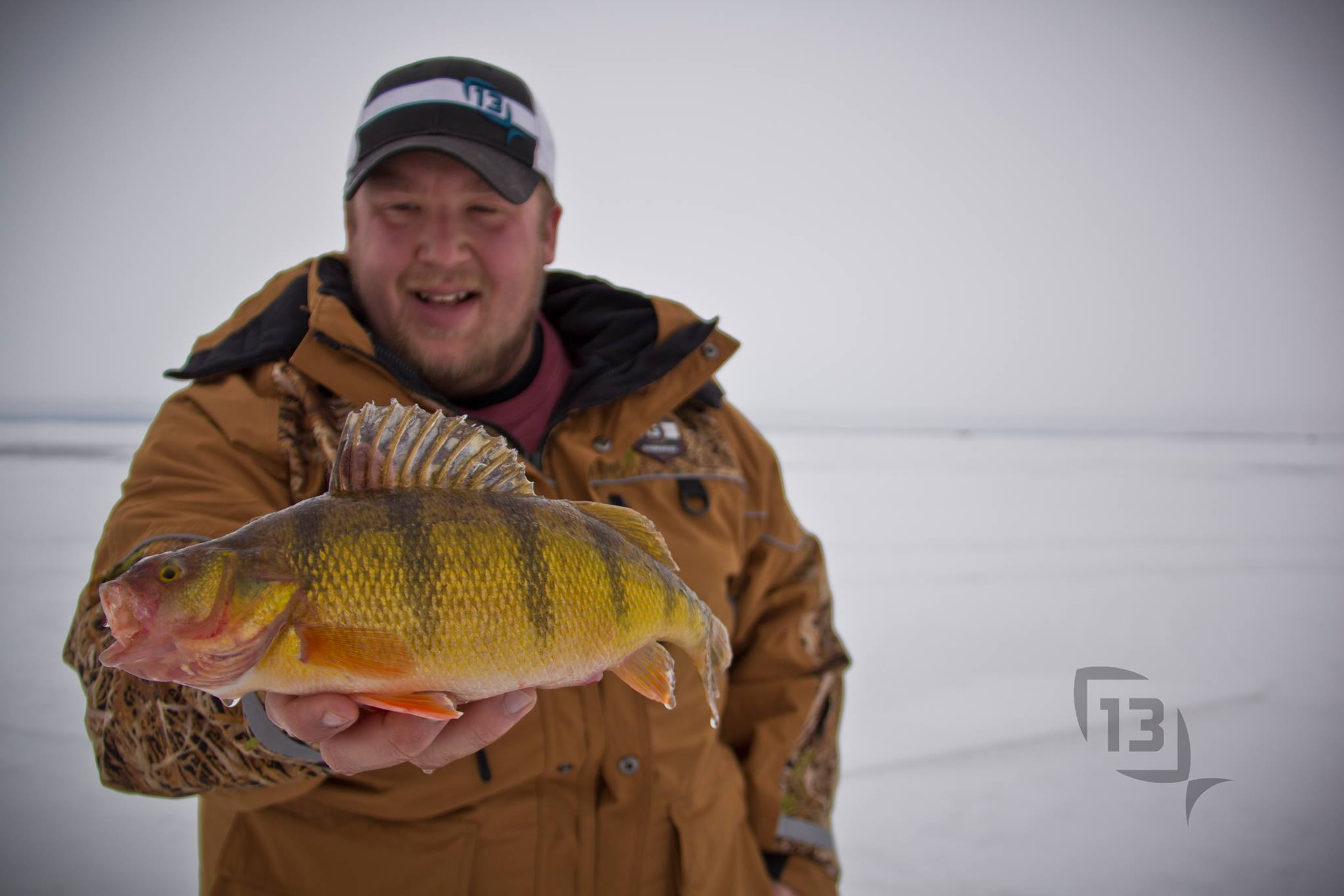 Fish open water this fall to catch winter fish through the for Ice fishing for perch