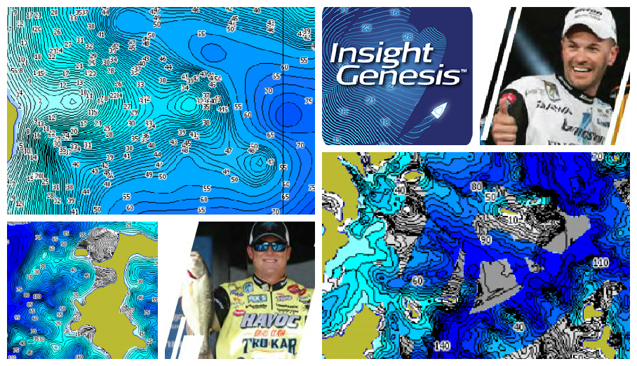 Insight Genesis maps giving Lowrance pros a competitive edge in 2015