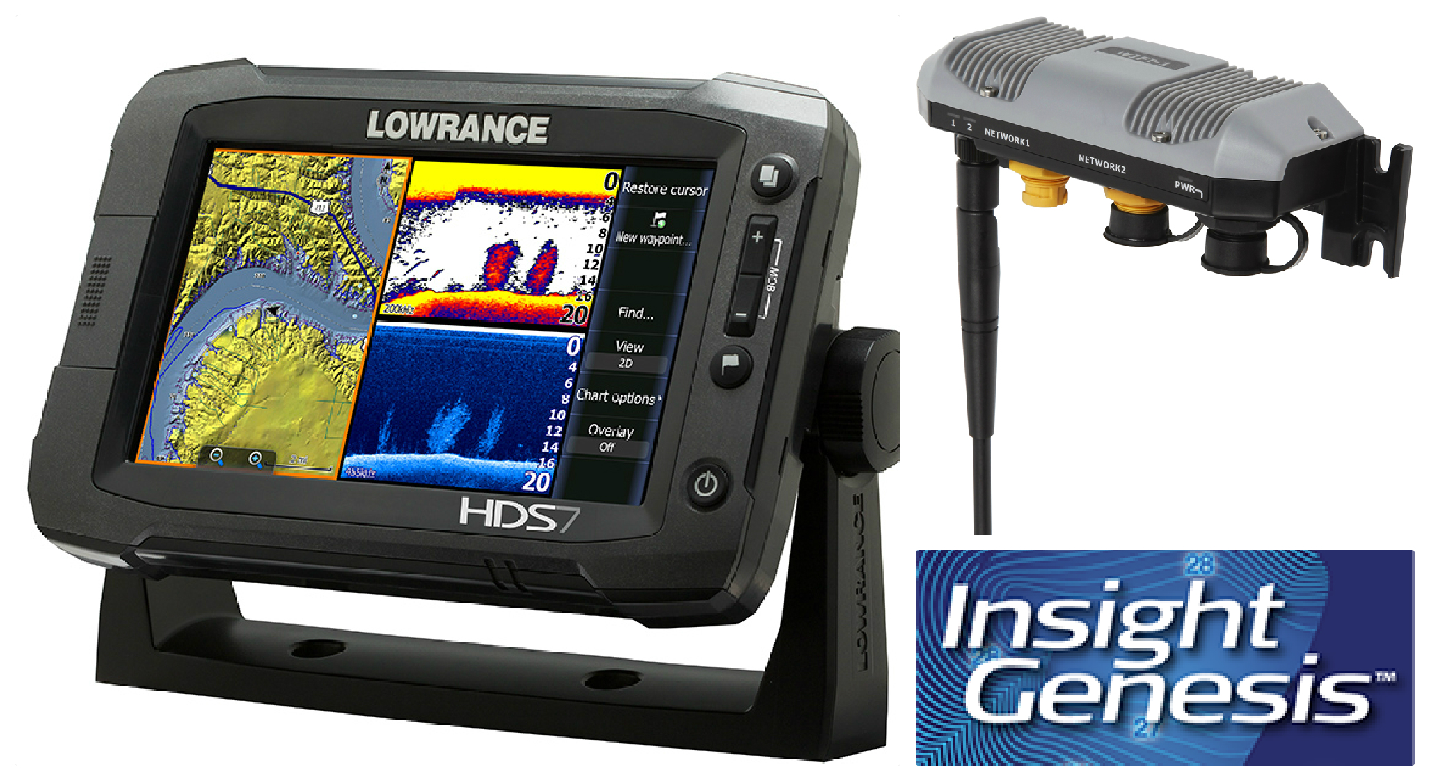 Want to win a Lowrance HDS Gen 2 Touch sonar/GPS unit? Go fishing on