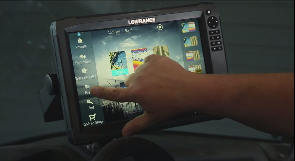How to back up Lowrance HDS waypoints before upgrading software for
