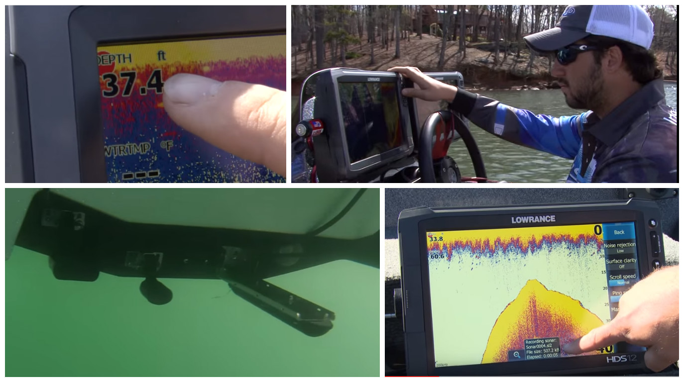 How to record C-MAP Genesis sonar logs with a Lowrance sonar
