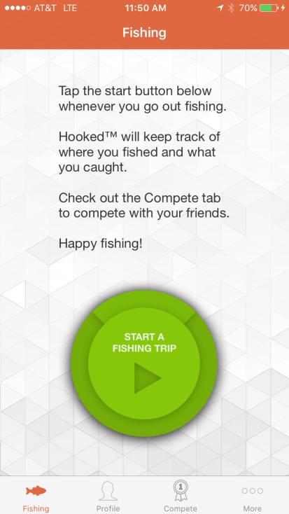 Hooked-App-Main-Screen