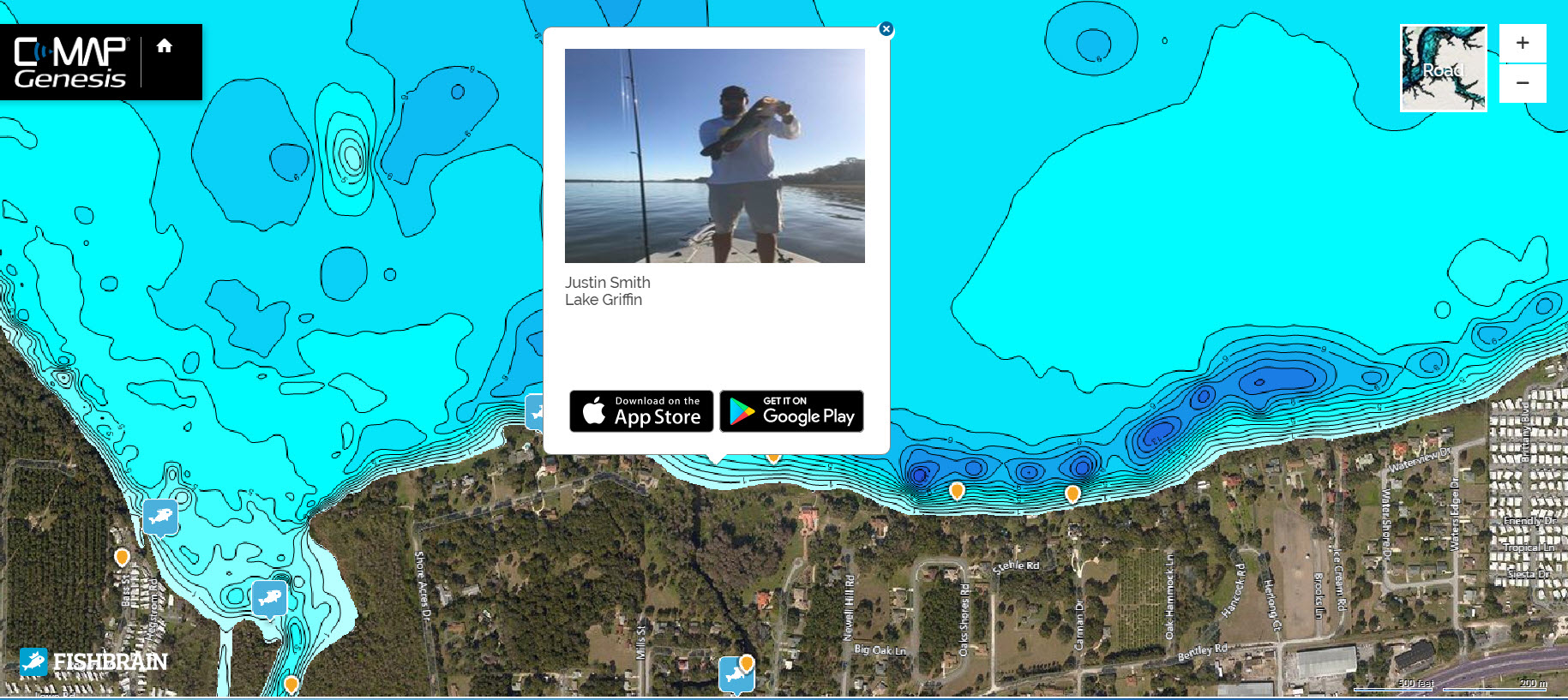 C-MAP and Fishbrain partner to integrate maps and app – C-MAP Fishing