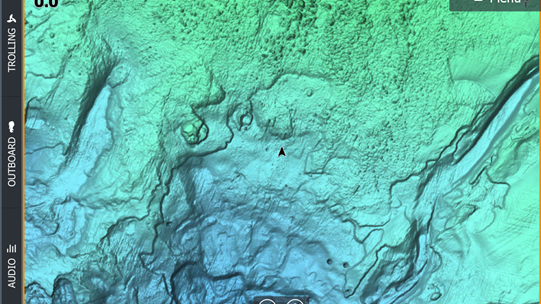 C-MAP Reveal charts feature photo-realistic sea floor